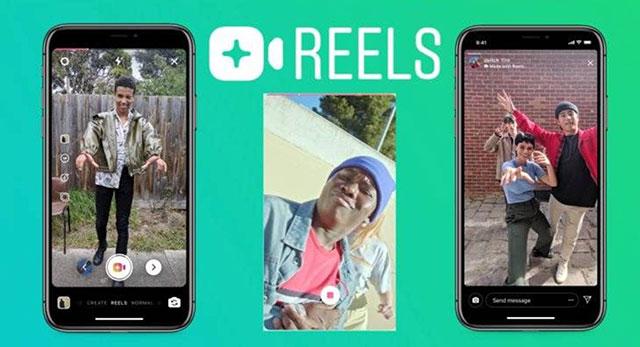 Instagram新功能Reels和TikTok功能类似