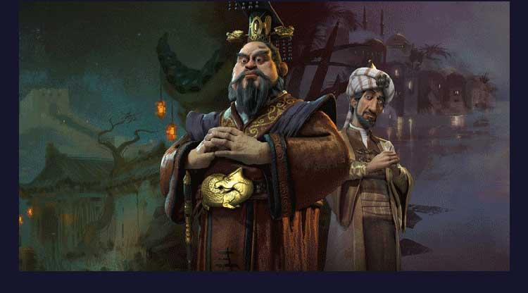 文明6中文版送5+4+3 整合风云变幻简体中文 文明