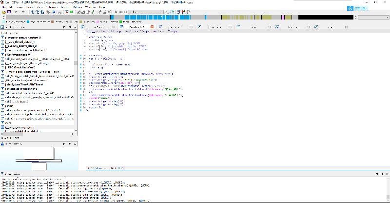 我们按下 F5 ,这是 IDA 的反编译快捷键,将会反编译当前选择的函数。